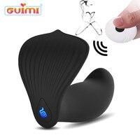 GUIMI USB Wstawiania Wibrator g-spot Stymulacji Motyl Kobiet Masturbacja Masażu Pilot Wibrujące Zabawki dla Dorosłych