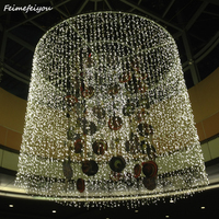 Feimefeiyou 6*3M led light guirlande lumineuse 8 Mode 600 LED String Lights Window Curtain Lights for Holiday Wedding Lighting