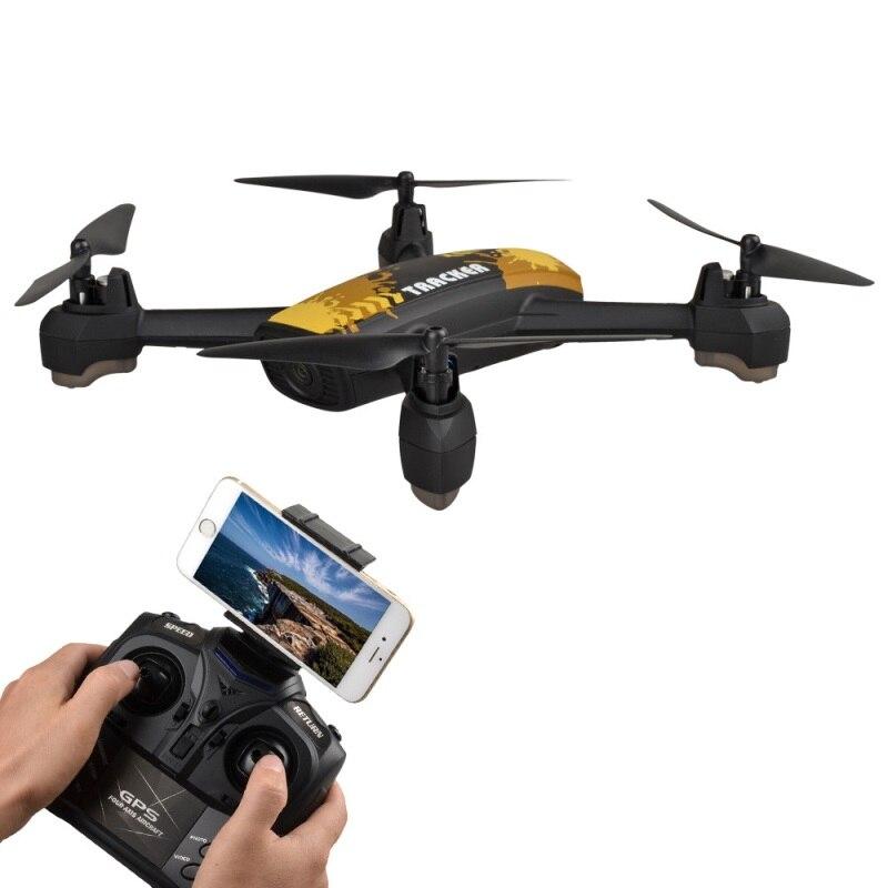 Profession GPS WIFI FPV selfile RC font b drone b font TRACKER JXD518 2 4G 720P