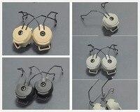 FMA Peltor SORDIN Headset Ops Core Helmet ARC Rail Adapter Mount 2pcs Per Set BLACK DE