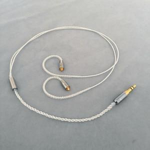 Image 1 - Diy אוזניות חוט קצר כבל 45cm 50cm MMCX ie80 im50 ue900 tf10 A2DC 0.78qdc