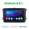 8 Окта основные Android 6.0.1 Dvd-плеер Автомобиля для Volkswagen VW Passat B5 B6 B7 CC Jetta Tiguan Touran Golf 5 6 с GPS Wi-Fi Радио