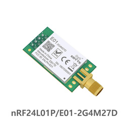 Nrf24l01p 2.4 ghz 500 mw 27dbm longa distância ebyte E01-2G4M27D spi transceptor nrf24l01 pa lna sem fio transmissor e receptor