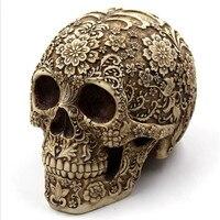 MATE BIRDS Темный стиль череп Резьба для творчества из пластика предметы интерьера изысканные ремесла подарки, сувениры