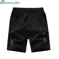 Grandwish Quick Dry Shorts Men Plus Size 5XL Mens Active Shorts Summer 2018 New Breathable Exercise