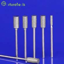 50pcs diamond mounted point dremel rotary tool wheels Head dia 0.5~6.0mm Shank 2.35mm shapes type A TZ42