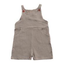Летние детские комбинезоны для мальчиков девочек одноцветные подтяжки брюки милый комбинезон для детей брюки детская одежда T288