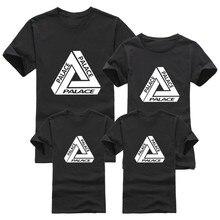 Family Matching Outfits,Skateboards Brand Palace T shirt Cotton T shirt Men Women Children's Skate Clothing,T-shirt For Girl Boy