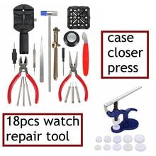 Горячие Продажи 18 Шт. Смотреть Repair Tool Remover Открывалка Плоскогубцы и 13 шт. Нажмите Set Вернуться Чехол Ближе Новый