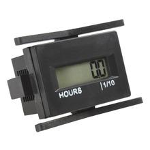 Universal 4.5-60 Volt IP68 waterproof Hex LCD hour meter for any AC/DC powered engine DIGITAL HOUR METER for Lawn Mower