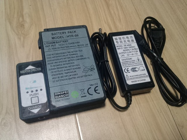 High Capacity 7800mAh BTR-09 Battery Replacement for FSM-80S/70S/70R/62S/61S Fusion Splicer Made in China