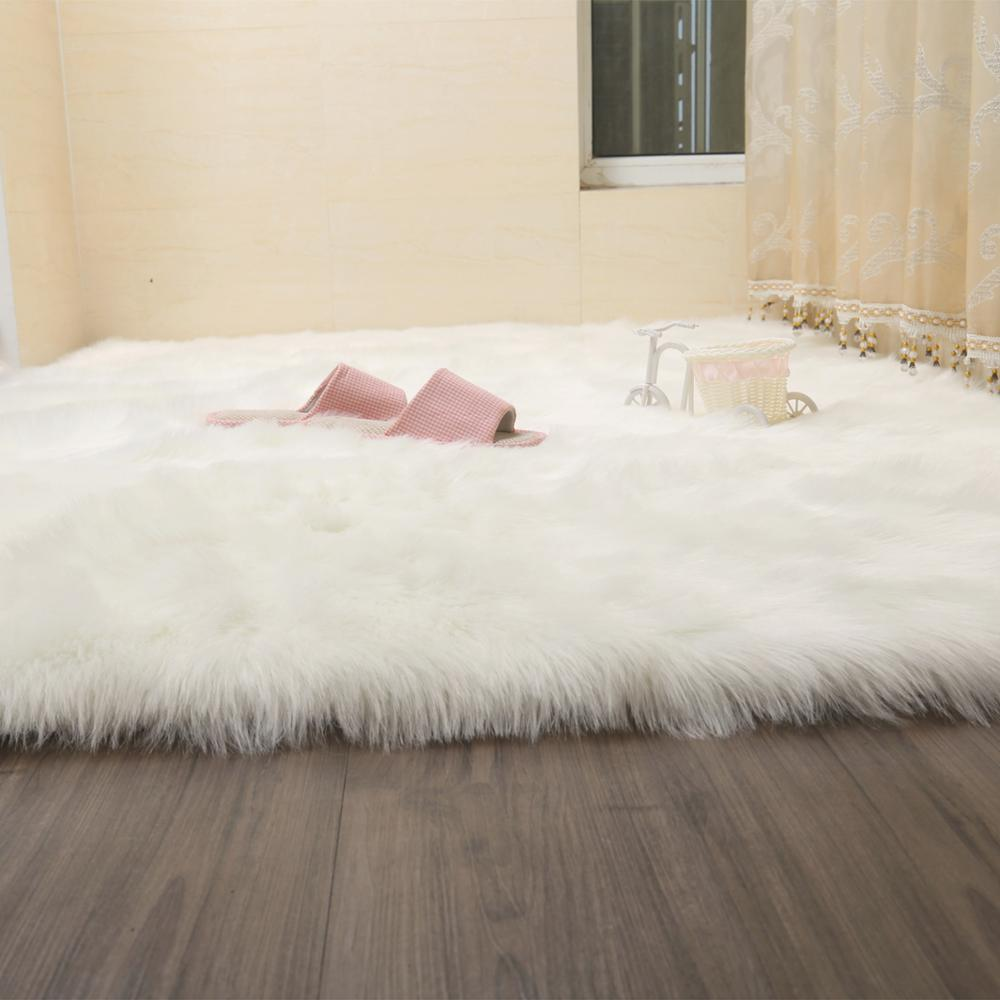 Aliexpress.com : Buy Thick Plush Artificial Wool Carpet