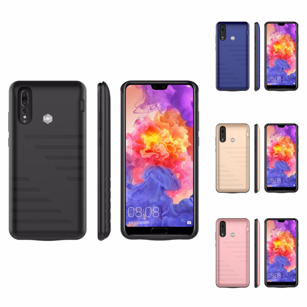 6800/8200mAh Power Bank Charger Case For Huawei P20 P20 Pro External Pack Backup Battery Charging Case Cover For Huawei P20 Pro