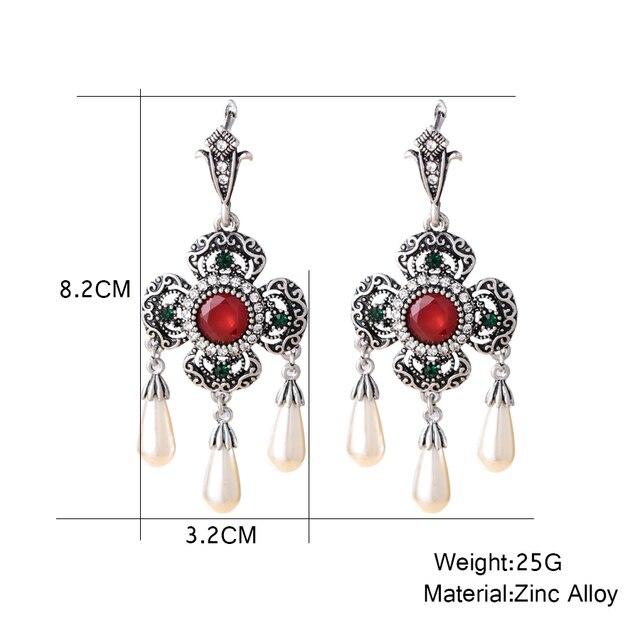 ожерелье и серьги с африканским жемчугом свадебные золотые ювелирные фотография