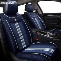 [kokololee] car seat covers for subaru impreza lada largus touareg opel vectra toyota auris for porsche cayenne auto accessories