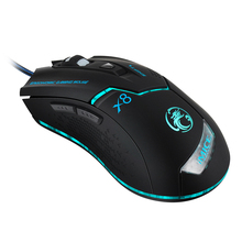 Wired Gaming Mouse USB Optical Gamer Mouse 6 Buttons Computer Mouse Gamer Mice Professional 3200DPI Gaming Mice T20