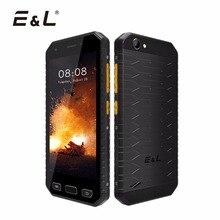 E & L S30 IP68 Водонепроницаемый ударопрочный телефон 4.7 дюймов HD 2 ГБ оперативной памяти 16 ГБ ROM Unlocked сенсорный мобильный телефон Android 7.0 смартфон 2017