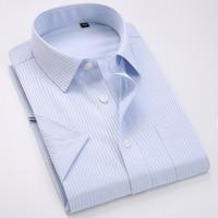 Men S Non Iron Regular Fit Dress Shirt Short Sleeve Casual Shirt Best Gift For Men