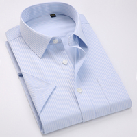 Men S Non Iron Regular Fit Dress Shirt Short Sleeve Casual Shirt Best Gift For Men