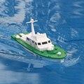 O envio gratuito de mini dragão elétrico alimentado missile barco modelo de navio modelo de montagem artesanal diy navio de guerra de brinquedo presente das crianças