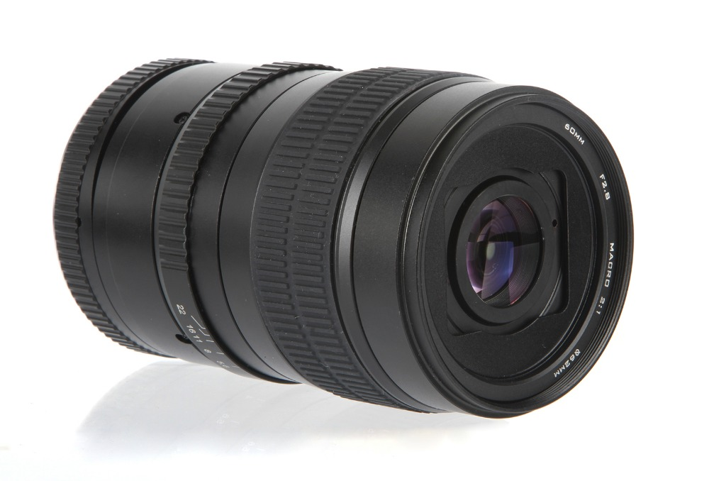 60mm f/2.8 2:1 2X Super Macro Mise Au Point Manuelle Objectif pour Sony NEX E Mont caméra A7 A7II A7R A7S A6300 A6000 A5100 NEX-7/6/5/3