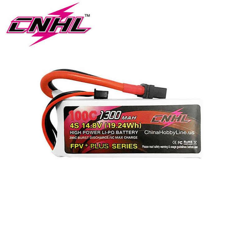 2 шт CNHL G + плюс 1300 mAh 4S 14,8 V 100C Lipo батарея
