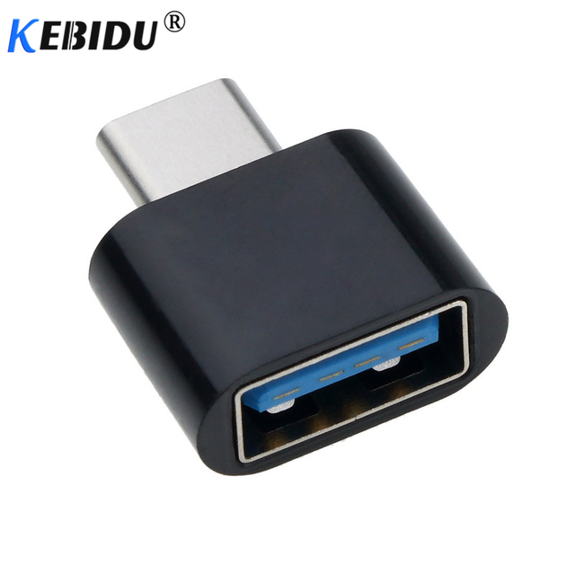 kebidu Type-C to USB Adapter OTG Converter USB 3.0 Convert to Type C USB-C Port Adapter Charging Sync for One plus Xiaomi Huawei