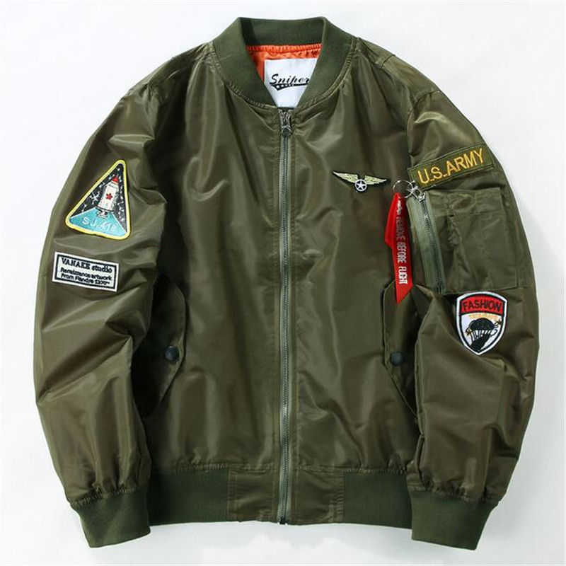 Bomber jacket us army – Modern fashion jacket photo blog