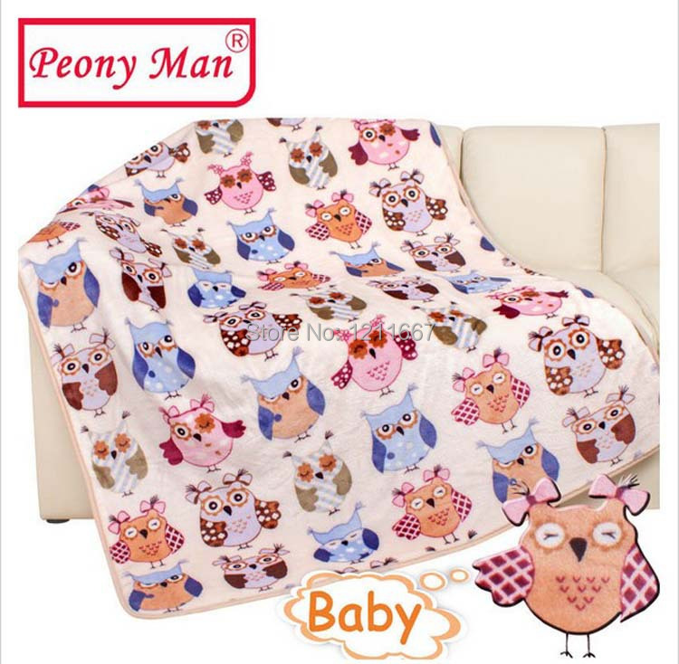 Adamant Ant Baby Blanket 100*140 Kids Cartoon Super Soft Blankets Bebe Aircon Child Sheet Thick Warm Winter Baby Bedding