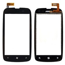 Wholesale 10pcs/lot Original New Lumia 610 Digitizer Touch Screen for Nokia Lumia 610 – Black replacement Free shipping
