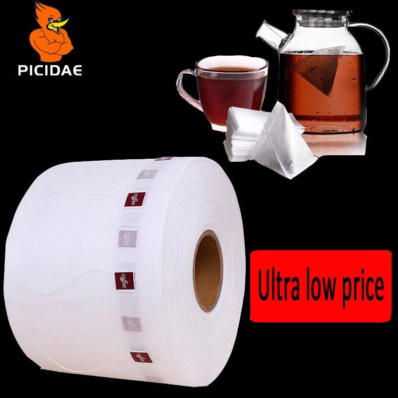 Café enroulé matériel filtre papier sac Portable importation japon étiquette fil aucune fuite laitier extraction froid bulle Triangle paquet