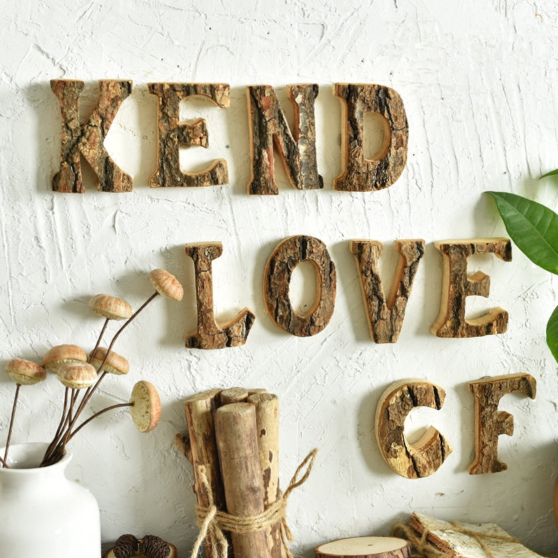Crafts For Weddings Rustic: Rustic Wedding Decoration Wooden Letters Wood Sign Love
