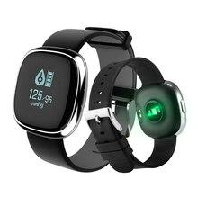 Smart Группа Р2 Артериального Давления Диапазон монитор Сердечного Ритма Смарт-Браслет Шагомер Сна Фитнес-Трекер для Android IOS Смартфон