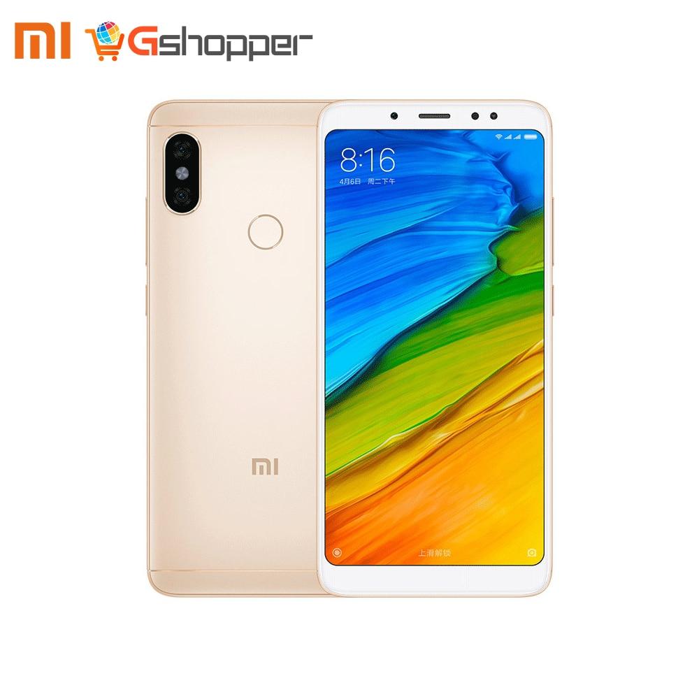 Global Version Xiaomi Redmi Note 5 3GB 32GB Android 8.1 Mobile Phone Snapdragon 636 Octa Core 5.99 18:9 Full Screen Dual Camera