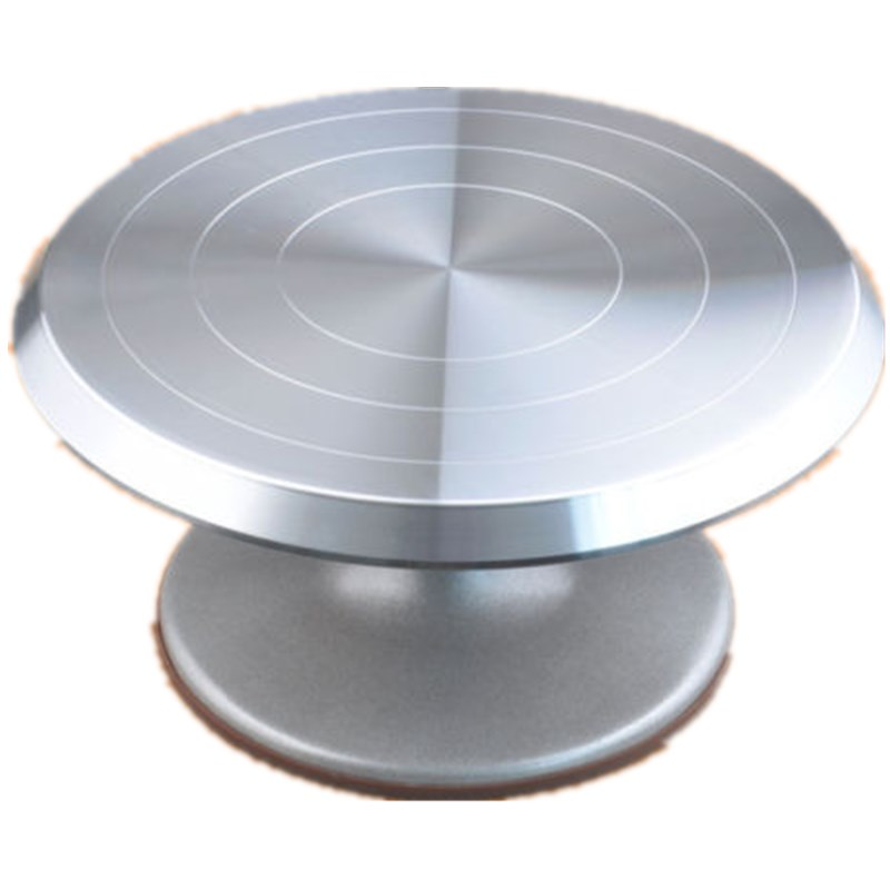 10-inch Aluminum Alloy Skid Cake Rack Rotating Table ...