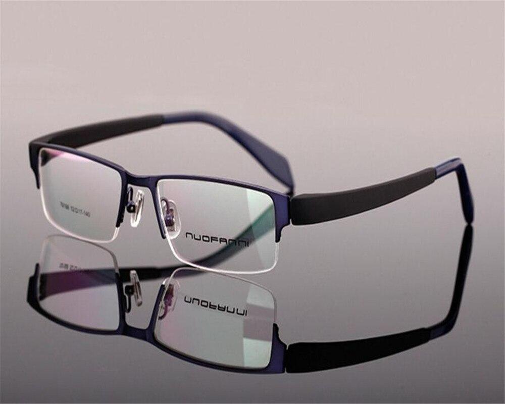Men's Reading Glasses Business Design Men Full Rim Alloy Progressive Multi-focal Lens Optical Eyewear Frame See Near Far Silver Reading Glasses Mc9064