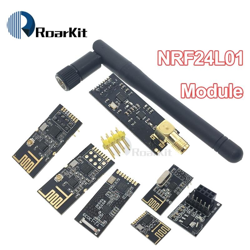 Socket-Adapter-Plate-Board Antenna LNA NRF24L01 Wireless Data-Transmission-Modules