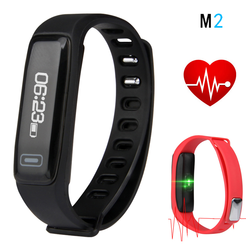 Espanson M2 Smart Bracelet Wristband Fitness Tracker Sport Bracelet Smartband Heart rate Monitor For ISO iphone XiaoMi Samsung