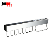Jieshalang Knife Racks Spice Rack Stainless Steel Pendant Kitchen Racks Tool Storage Rack Wall Hook Kitchen Hardware Supplies