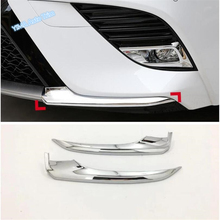 Lapetus Car Styling Front Bumper Bottom Corner Protector Cover Trim 2 Piece Fit For Toyota Camry 2018 2019 2020 ABS Exterior Kit