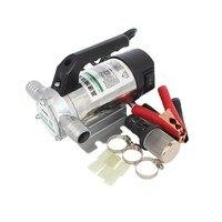 50L/min 12V/24V/220V Electric Automatic Fuel Transfer Pump For Pumping Oil/Diesel/Kerosene/Water, Small Auto Refueling Pump 12 V
