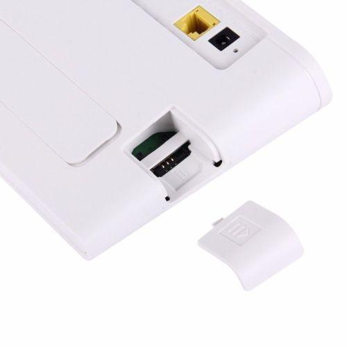 Débloqué Huawei B310 B310s-518 150 Mbps 4G LTE CPE WIFI ROUTEUR Modem avec 2 pcs antennes - 3