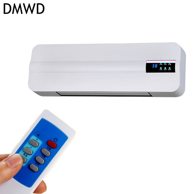 DMWD Wall Mounted Remote Control Heater Home Energy Saving And Heating  Heating Fan Bathroom Air
