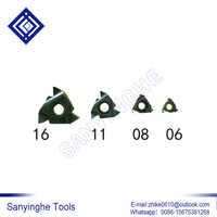 free shipping high quality sanyinghe 10pcs/lots 06NR A60 08NR A60 cnc carbide turning inserts threading inserts