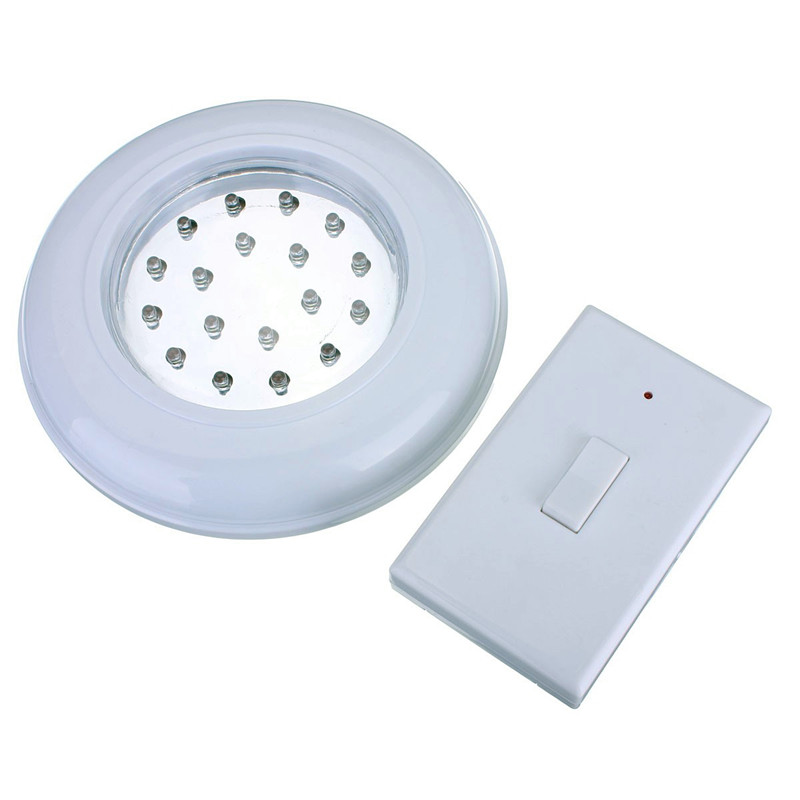 New Wire Free Led Ceiling Cordless Wall Light With Remote