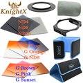 KnightX цветовой фильтр 58 мм 52 мм 67 мм НЕЙТРАЛЬНОЙ ПЛОТНОСТИ для cokin p серии установить nikon canon d3300 d3200 d5200 d5500 для eos 1100d 1200d 600d 100d