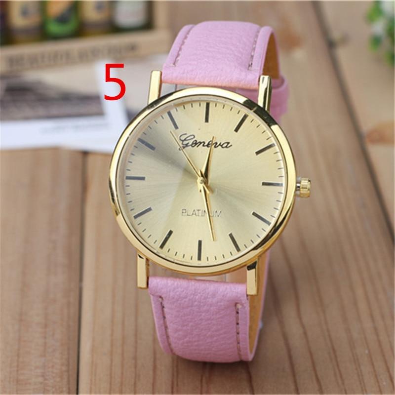 Frauen Mode Uhr Band Sport Concise Lässige Luxus Business Armbanduhr