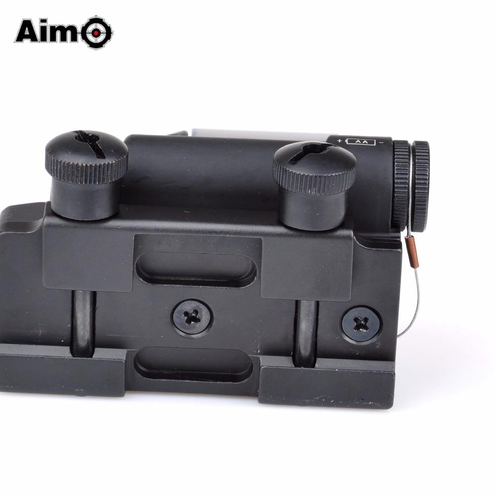 Aim-O Hunting Red Dot SRS Dəmir Reflex 1x38 Görmə sahəsi Optika - Ovçuluq - Fotoqrafiya 6