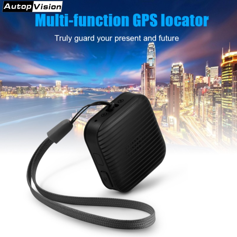 цена на A18 Portable Mini GPS Tracker Personal Anti-Lost Tracking for Kids Pet Dog Cat elder Car Vehicle with free app SOS Alarm GPS+LBS
