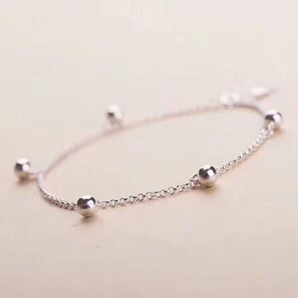 SHILOVEM 925 sterling silver Anklets classic fine Jewelry Customizable women wedding women gift wholesale wsjl